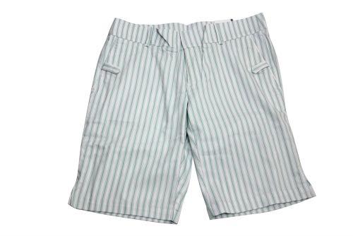 Ashworth Ladies Patterned Skort - White Size 10