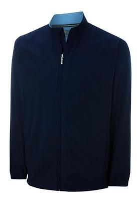 Ashworth Mens Long Sleeve Full Zip Windshirt