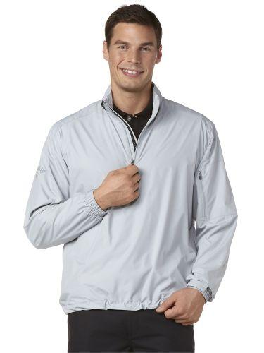 Callaway Gust Long Sleeve 1/4 Zip Windshirt Grey