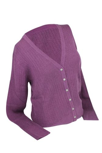 Ashworth Ladies Plain Golf Cardigan
