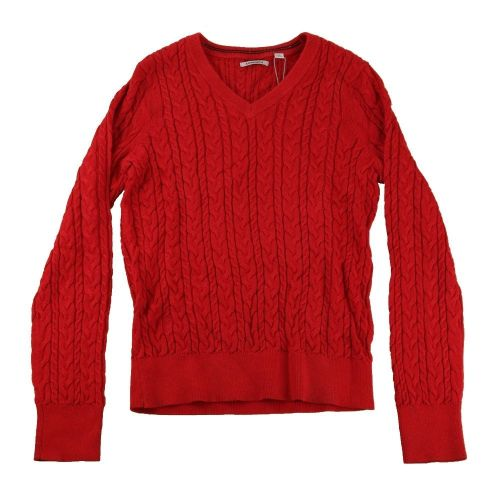 Ashworth Ladies Solid Cable Sweater
