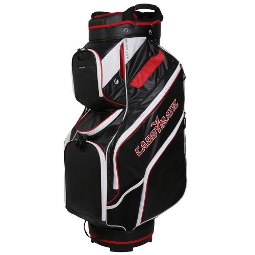 Caddymatic Golf Water Resistant Golf Trolley / Cart Bag,14 Full Length Dividers