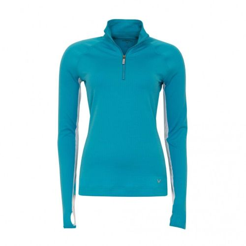 Callaway Ladies UV 1/4 Zip Mock