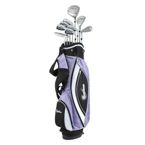 Confidence Golf Lady Power V3 Club Set & Stand Bag,,,,,,