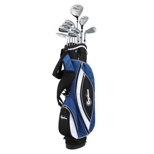 Confidence Golf Mens Power V3 Club Set and Stand Bag,,,,,,