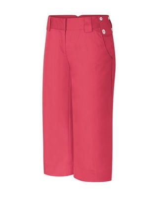 Adidas ClimaLite Ladies Pinstripe Trousers - Pink