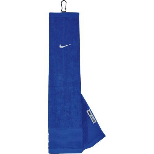Nike Golf Face/Club Trifold Golf Towel-Blue