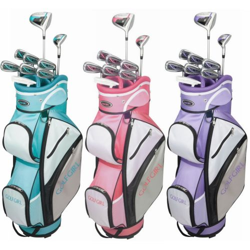 GolfGirl FWS3 Ladies Petite Golf Clubs Set with Trolley Bag, All Graphite, Right Hand