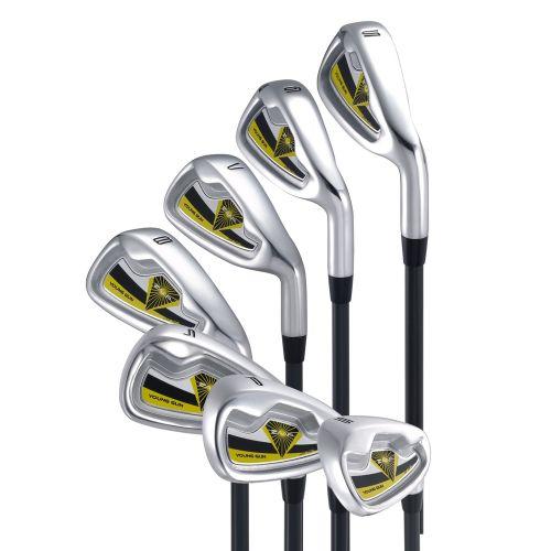 Young Gun ZAAP Junior Golf Irons Yellow Ages 3-5