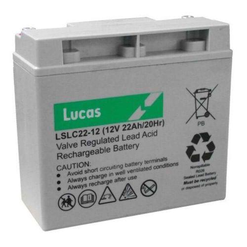 Caddymatic by LUCAS 12 volt 22ah 18 Hole Golf Battery