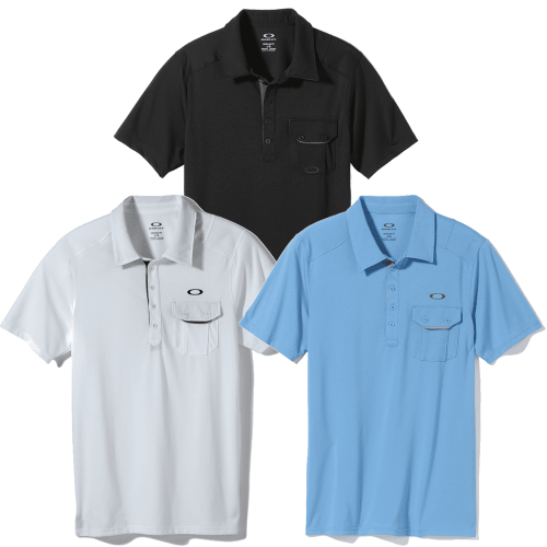 Oakley Must Have Polo Shirt 3 Pack Small