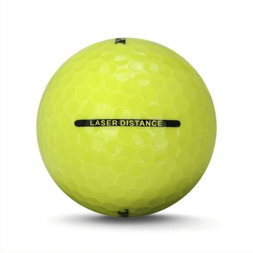 6 Dozen Ram Golf Laser Distance Golf Balls Incredible Value LONG Yellow Balls