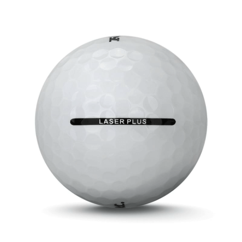 3 Dozen Ram Laser Plus Golf Balls -Soft Low Compression for Slower Swing Speed White