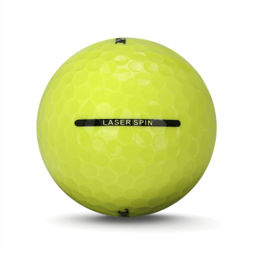 6 Dozen Ram Golf Laser Spin Golf Balls Incredible Value Golf Balls! Yellow