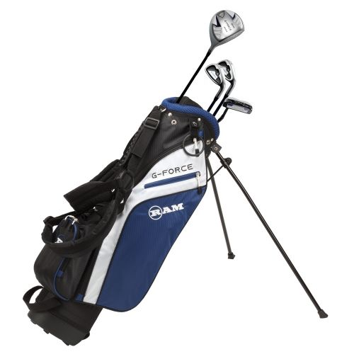 Ram Golf Junior G-Force Boys Golf Clubs Set with Bag, Left Hand
