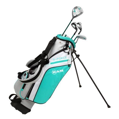 Ram Golf Junior G-Force Girls Golf Clubs Set with Bag, Left Hand