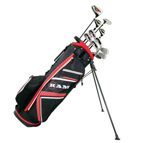 Ram Golf Accubar Plus Mens Golf Clubs Set With Stand Bag