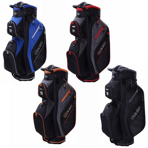 Ram Golf Lightweight Trolley Bag with 14 Way Dividers