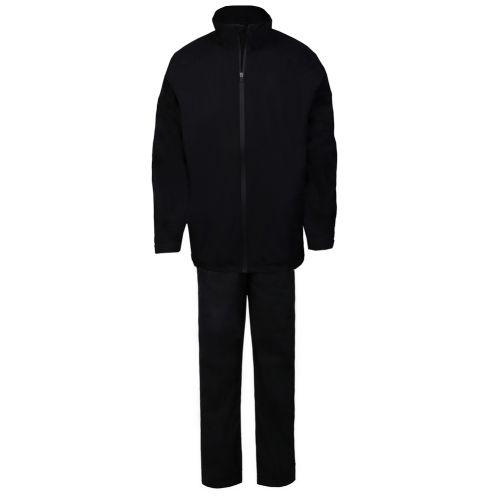 Ram Golf FX Premium Waterproof Suit (Jacket and Trousers), Black