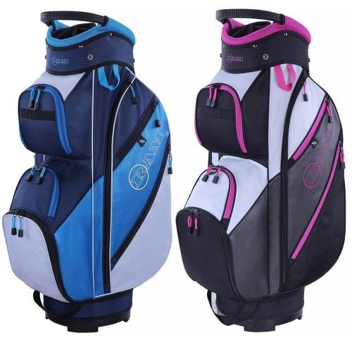 Ram Golf Lightweight Ladies Trolley Bag with 14 Way Full Length Dividers