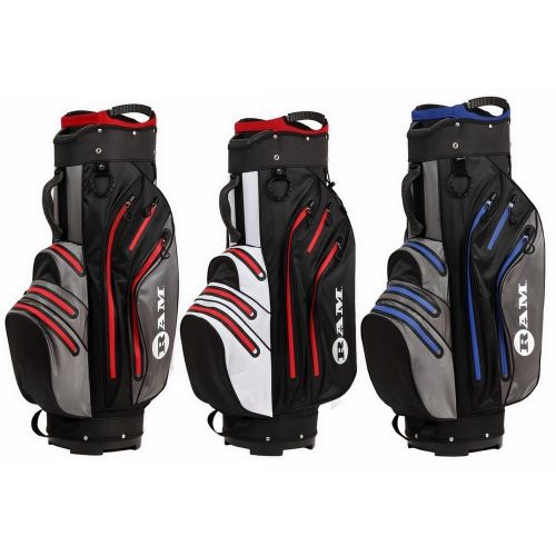 Ram Golf Waterproof Cart / Trolley Bag - 14 Club Full Length Dividers