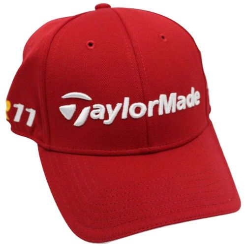 TaylorMade Mens R11 Red Penta Golf Cap