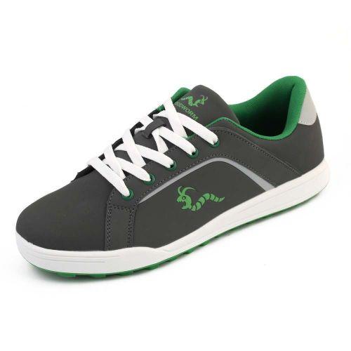 Woodworm Golf Surge V3 Mens Golf Shoes Grey/Green,,,,